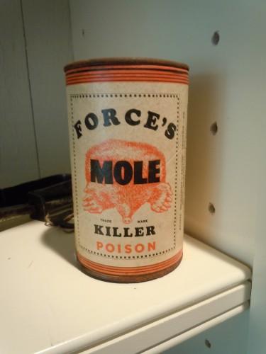 mole poison