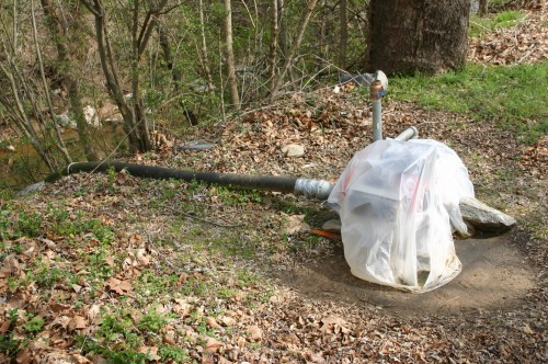 Irrigation Pumping From A Stream Or