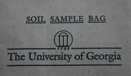 soil sample bag