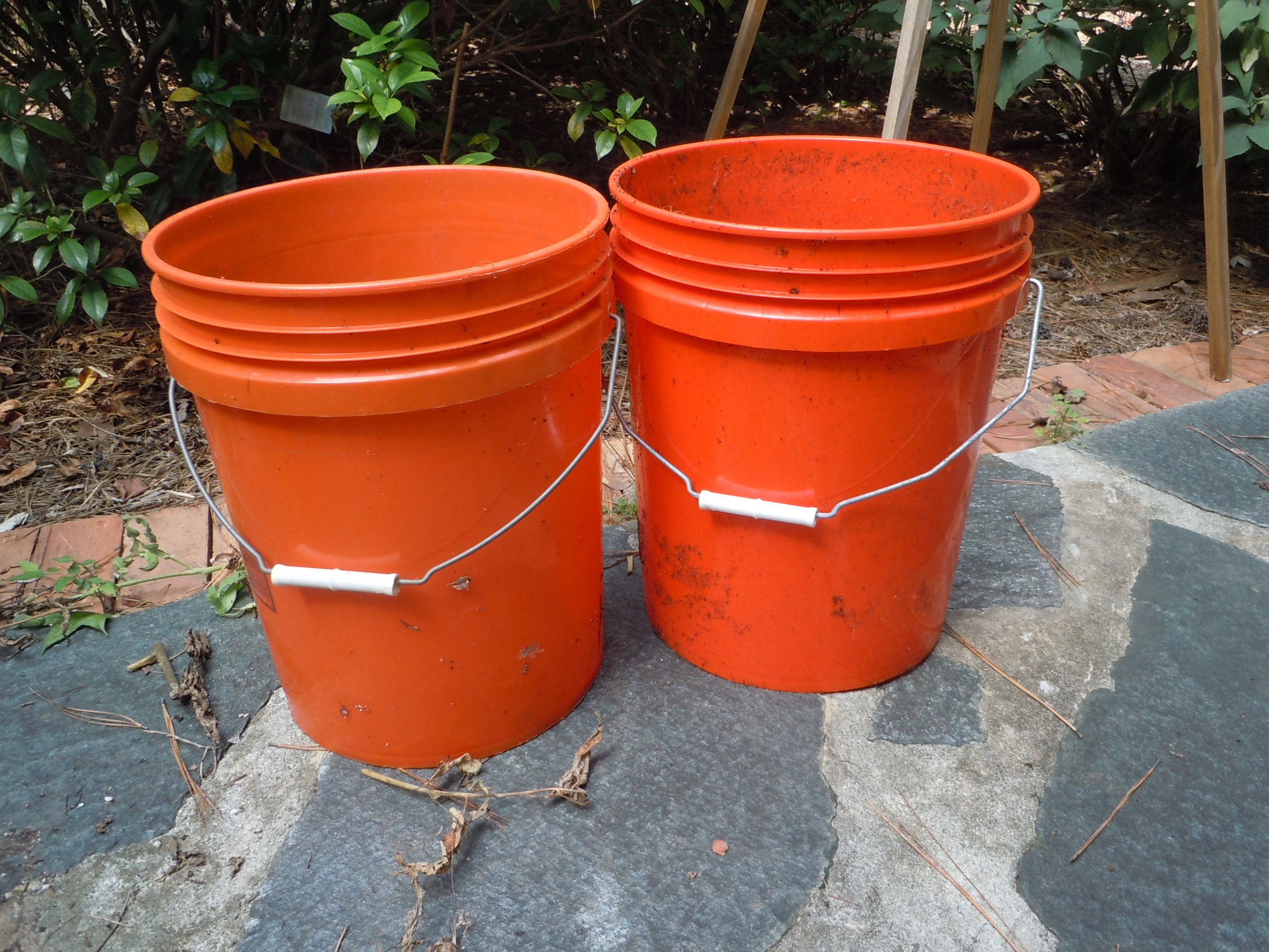 Self Watering Bucket Garden Walter Reeves The Georgia Gardener