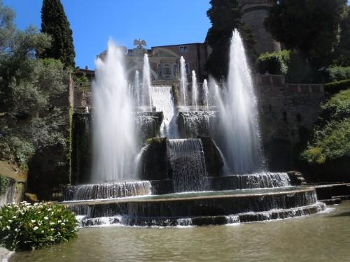 Villa d'Este, near Tivoli, was built in 1570 and has spectacular fountains