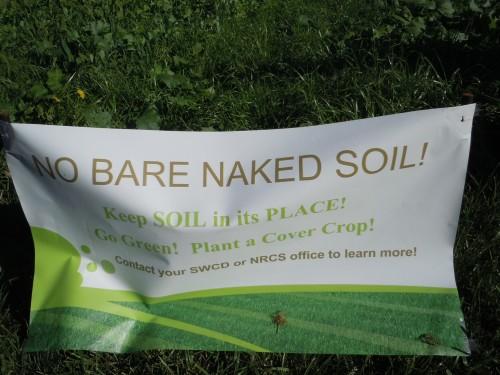 no bare naked soil