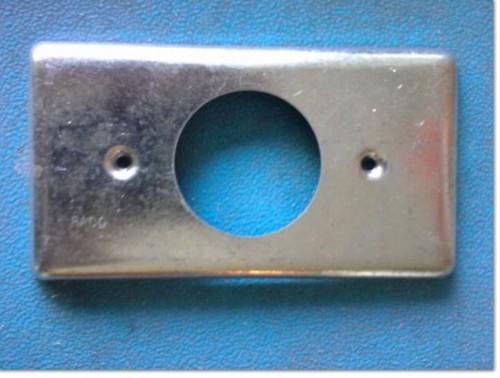 Bluebird metal entrance