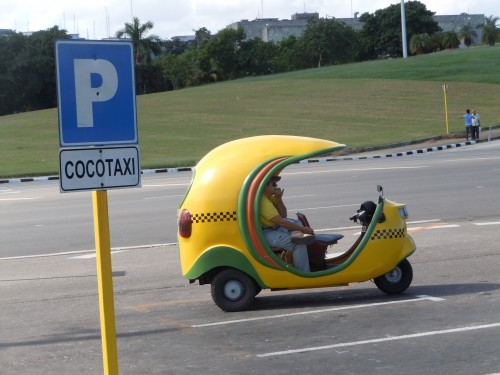 Enjoy a ride in a cocotaxi...equal parts fun and terrifying!