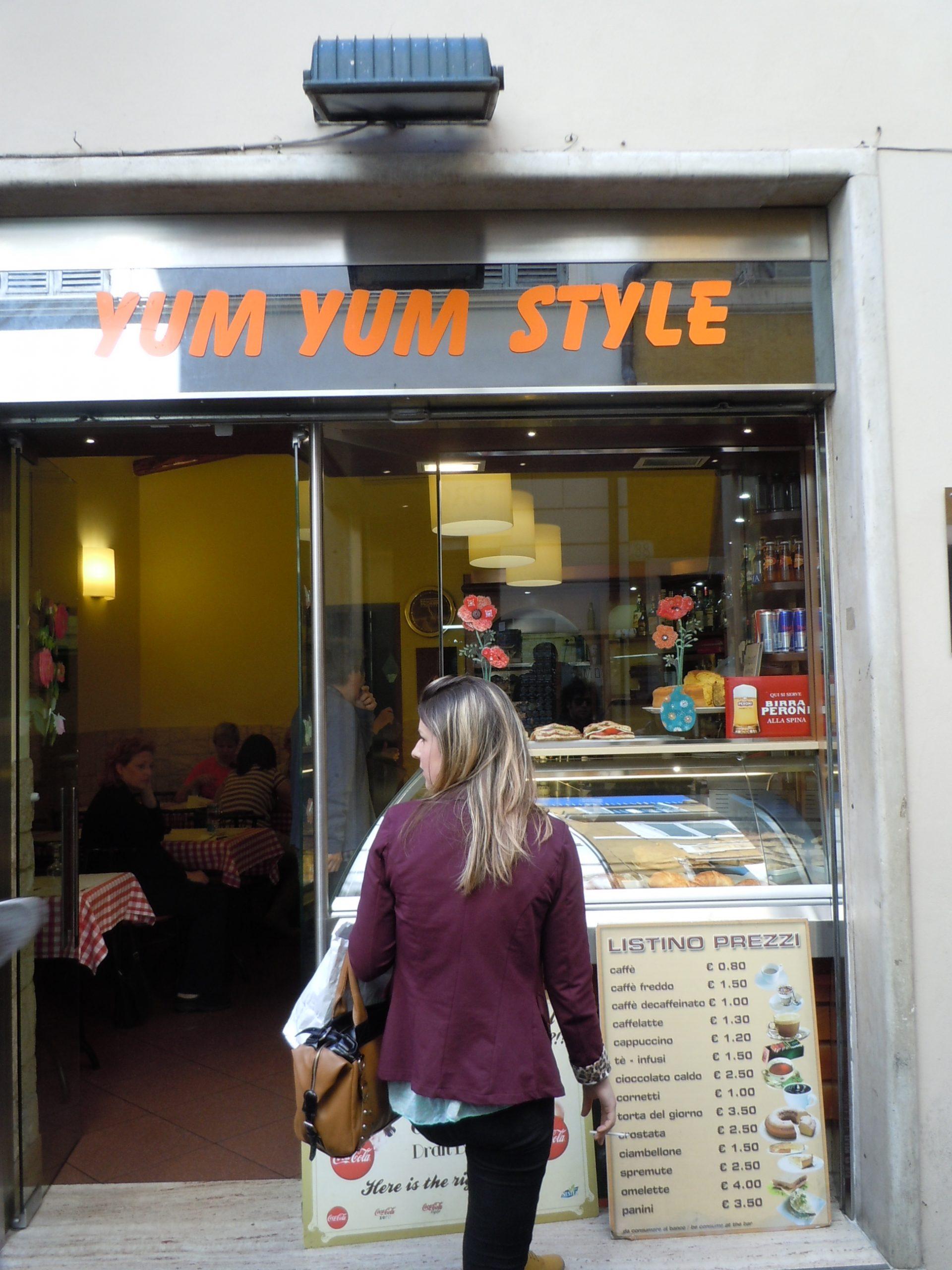 Yum Yum: food!