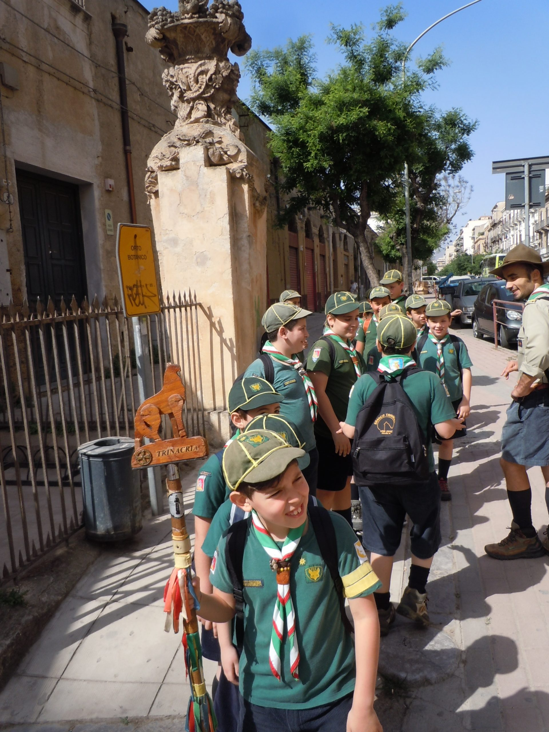 Italian Cub Scouts!