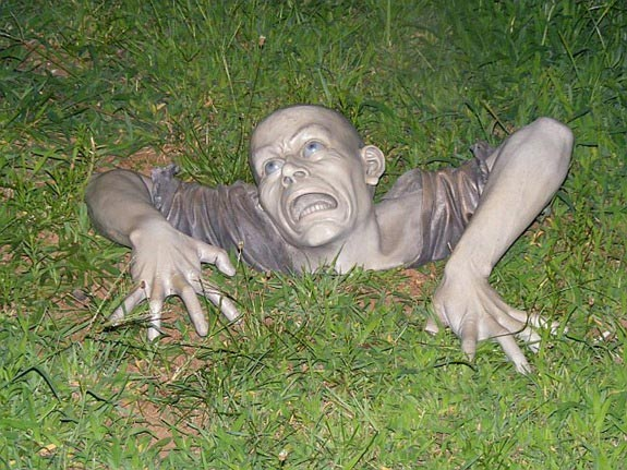lawn zombie
